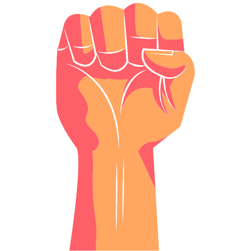 fist rising for landing page