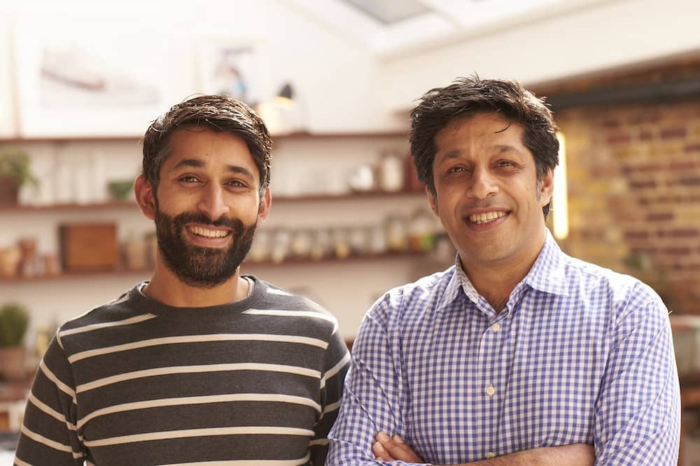 Vestd co-founders Naveed and Ifty